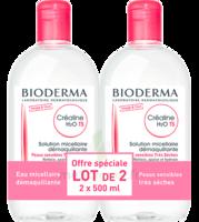 CREALINE TS H2O Solution micellaire sans parfum nettoyante apaisante 2Fl/500ml à ANGLET