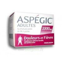 Aspegic Adultes 1000 Mg, Poudre Pour Solution Buvable En Sachet-dose 20 à ANGLET