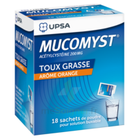 Mucomyst 200 Mg Poudre Pour Solution Buvable En Sachet B/18 à ANGLET