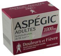 Aspegic Adultes 1000 Mg, Poudre Pour Solution Buvable En Sachet-dose 15 à ANGLET