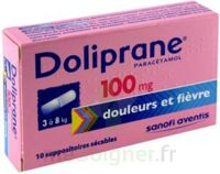 Doliprane 100 Mg Suppositoires Sécables 2plq/5 (10) à ANGLET
