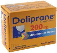 Doliprane 200 Mg Poudre Pour Solution Buvable En Sachet-dose B/12 à ANGLET