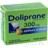 Doliprane 300 Mg Poudre Pour Solution Buvable En Sachet-dose B/12 à ANGLET
