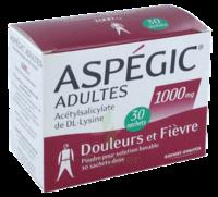 Aspegic Adultes 1000 Mg, Poudre Pour Solution Buvable En Sachet-dose 30 à ANGLET