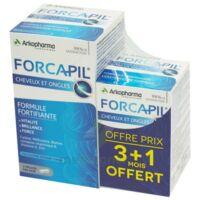 Forcapil Gélules croissance vitalité cheveux ongles B/180+60 à ANGLET
