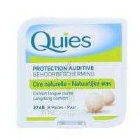 QUIES PROTECTION AUDITIVE CIRE NATURELLE 8 PAIRES à ANGLET