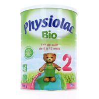 Physiolac Lait Bio 2eme Age à ANGLET