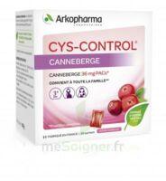 Cys-control 36mg Poudre Orale 20 Sachets/4g à ANGLET