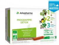 Arkofluide Bio Ultraextract Coffret programme détox 3x10 Ampoules/10ml à ANGLET