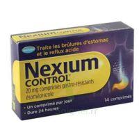 Nexium Control 20 Mg Comprimés Gastro-résistants Plq/14 à ANGLET