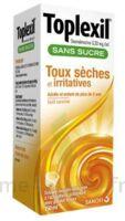 Toplexil 0,33 Mg/ml Sans Sucre Solution Buvable 150ml à ANGLET