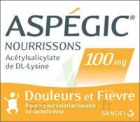 Aspegic Nourrissons 100 Mg, Poudre Pour Solution Buvable En Sachet-dose à ANGLET