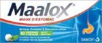 Maalox Hydroxyde D'aluminium/hydroxyde De Magnesium 400 Mg/400 Mg Cpr à Croquer Maux D'estomac Plq/40 à ANGLET