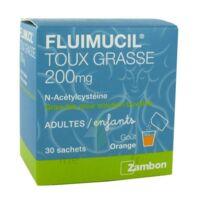 Fluimucil Expectorant Acetylcysteine 200 Mg Sans Sucre, Granulés Pour Solution Buvable En Sachet édulcorés à L'aspartam Et Au Sorbitol à ANGLET