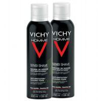 VICHY mousse à raser peau sensible LOT à ANGLET
