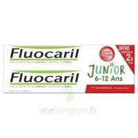 Fluocaril Junior Gel Dentifrice Fruits Rouges 6/12ans 2*75ml à ANGLET