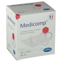Medicomp® compresses en nontissé 7,5 x 7,5 cm - Pochette de 2 - Boîte de 25 à ANGLET