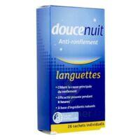 DOUCENUIT ANTIRONFLEMENT LANGUETTES, sachet 28 à ANGLET