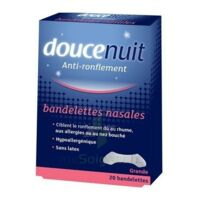 DOUCENUIT Bandelettes nasales GRANDES, bt 20 à ANGLET