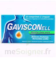 Gavisconell Coprimés à Croquer Sans Sucre Menthe édulcoré à L'aspartam Et à L'acésulfame Potas Plq/24 à ANGLET