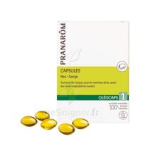 Pranarom Oleocaps 1 Caps Nez Gorge Oreilles à ANGLET
