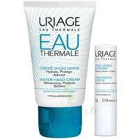 Uriage Eau Thermale Crème D'eau Mains T/30ml+stick Lèvres à ANGLET