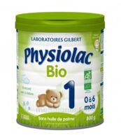 Physiolac Lait Bio 1er Age à ANGLET