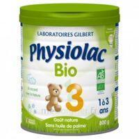 Physiolac Lait Bio 3eme Age 900g à ANGLET