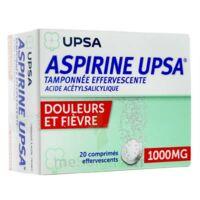 Aspirine Upsa Tamponnee Effervescente 1000 Mg, Comprimé Effervescent à ANGLET
