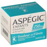 Aspegic Enfants 250, Poudre Pour Solution Buvable En Sachet-dose à ANGLET
