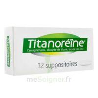 Titanoreine Suppositoires B/12 à ANGLET
