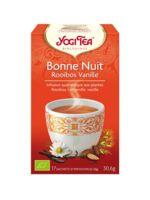 Yogi Tea Bonne Nuit Rooibos Vanille à ANGLET