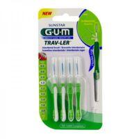 GUM TRAV - LER, 1,1 mm, manche vert , blister 4 à ANGLET