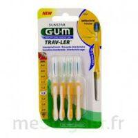 GUM TRAV - LER, 1,3 mm, manche jaune , blister 4 à ANGLET