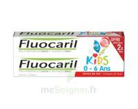Fluocaril Kids Gel Dentifrice Fraise 0/6ans 2*50ml à ANGLET