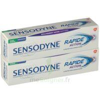 Sensodyne Rapide Pâte dentifrice dents sensibles 2*75ml à ANGLET