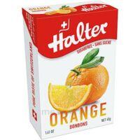 Halter Bonbon sans sucre orange 40g à ANGLET