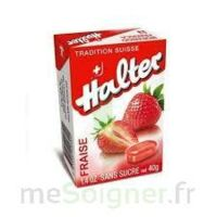 Halter Bonbon sans sucre fraise 40g à ANGLET