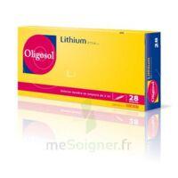 Oligosol Lithium Solution Buvable En Ampoule Ou En Récipient Unidose 28amp/2ml à ANGLET