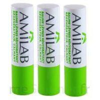 Amilab Baume labial réhydratant et calmant lot de 3 à ANGLET