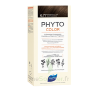 Phytocolor Kit Coloration Permanente 6.77 Marron Clair Cappuccino à ANGLET