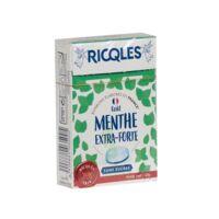 Ricqles Sucres Cuits Bonbon Menthe Extra-forte Sans Sucre B/40g à ANGLET