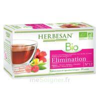 Herbesan Hibiscus Bio Tisane élimination 20 Sachets à ANGLET