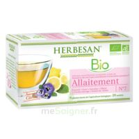Herbesan Infusion Bio Tisane allaitement 20 Sachets à ANGLET
