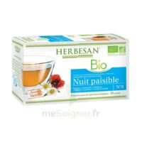 Herbesan Infusion Bio Tisane relaxation détente 20 Sachets à ANGLET