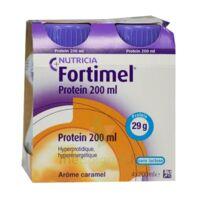 Fortimel Protein Nutriment Caramel 4 Bouteilles/200ml à ANGLET