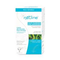 Netline Crème visage/corps décolorante peau sensible 30+30ml à ANGLET