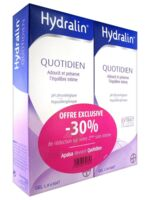 Hydralin Quotidien Gel lavant usage intime 2*200ml à ANGLET