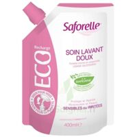 Saforelle Solution soin lavant doux Eco-recharge/400ml à ANGLET