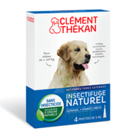 Clément Thékan Spot-on Solution Externe Grand Chien 4 Pipettes/5ml à ANGLET